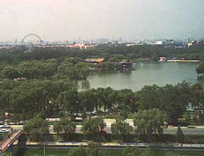 In 2003, I took this picture from the hotel I lived in back in 1987, overlooking Long Tan Park in Beijing.